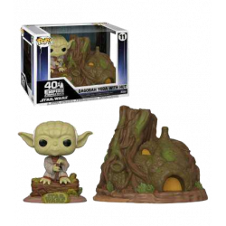 11 Dagobah Yoda With Hut