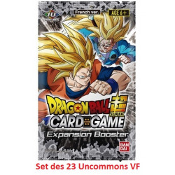 EB01 Expansion Booster - Set des 23 Uncommons