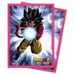 Protège-cartes Dragon Ball Super : Super Saiyan 4 Goku X65