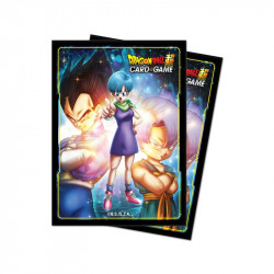 Protège-cartes Dragon Ball Super : Bulma,Vegeta and Trunks X65
