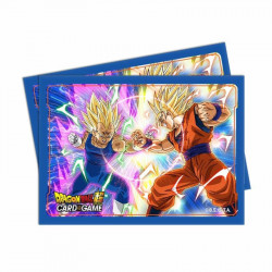 Protège-cartes Dragon Ball Super : Vegeta Vs Goku X65