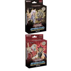 Yu-Gi-Oh!  Lot de 2 Decks de Démarrage Speed Duel : Les Cauchemars Tordus / Le Match du Millénium