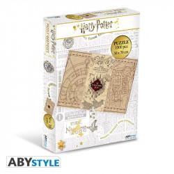 Puzzle 1000 pièces -  Harry Potter - Carte du Maraudeur