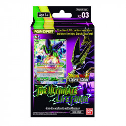 Expert Deck Dragon Ball Super Card Game XD03 : The Ultimate Life Form