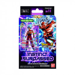 Deck de Démarrage Dragon Ball Super Card Game SD11 : Instinct Surpassed