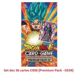 Set des 36 cartes EX06 (Premium Pack - GE04)