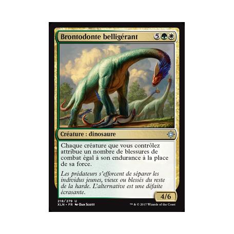 Brontodonte belligérant / Belligerent Brontodon