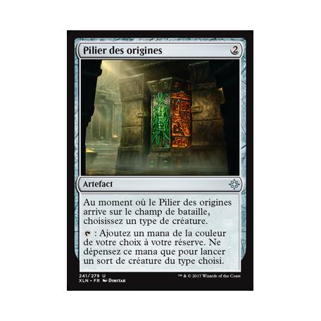 Pilier des origines / Pillar of Origins