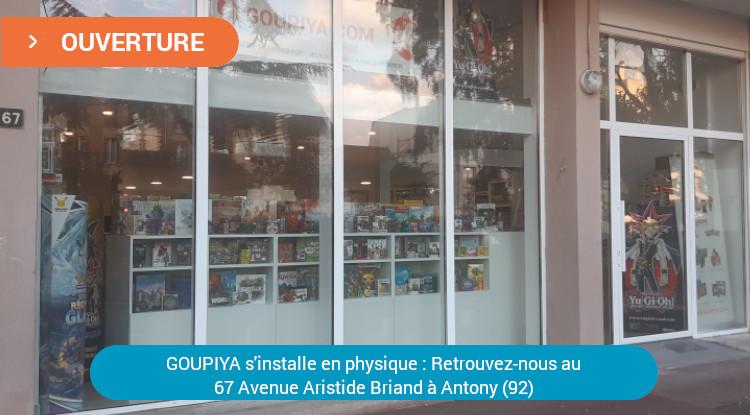 Retrouverez-nous à la boutique physique GOUPIYA située au 67 Avenue Aristide Briand 92160 Antony (92)